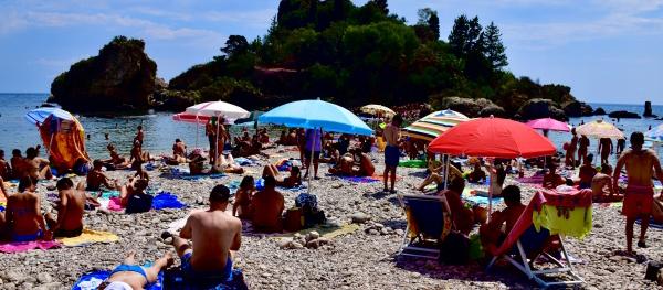 イタリア人が好きなビーチのイメージ